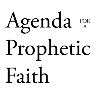2019 Agenda for a Prophetic Faith — Engaged Compassion